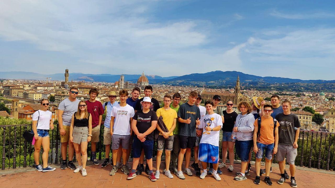 Abschlussreise Toskana 1.Klasse über Florenz