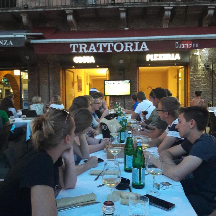 Abschlussreise Toskana 11. Fußball