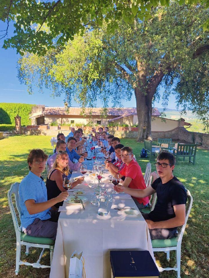 Abschlussreise Toskana 12. Abschluss Essen
