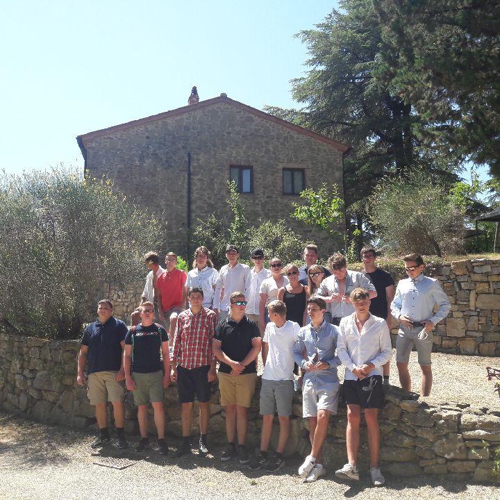 Abschlussreise Toskana 3.Schüler Quartier