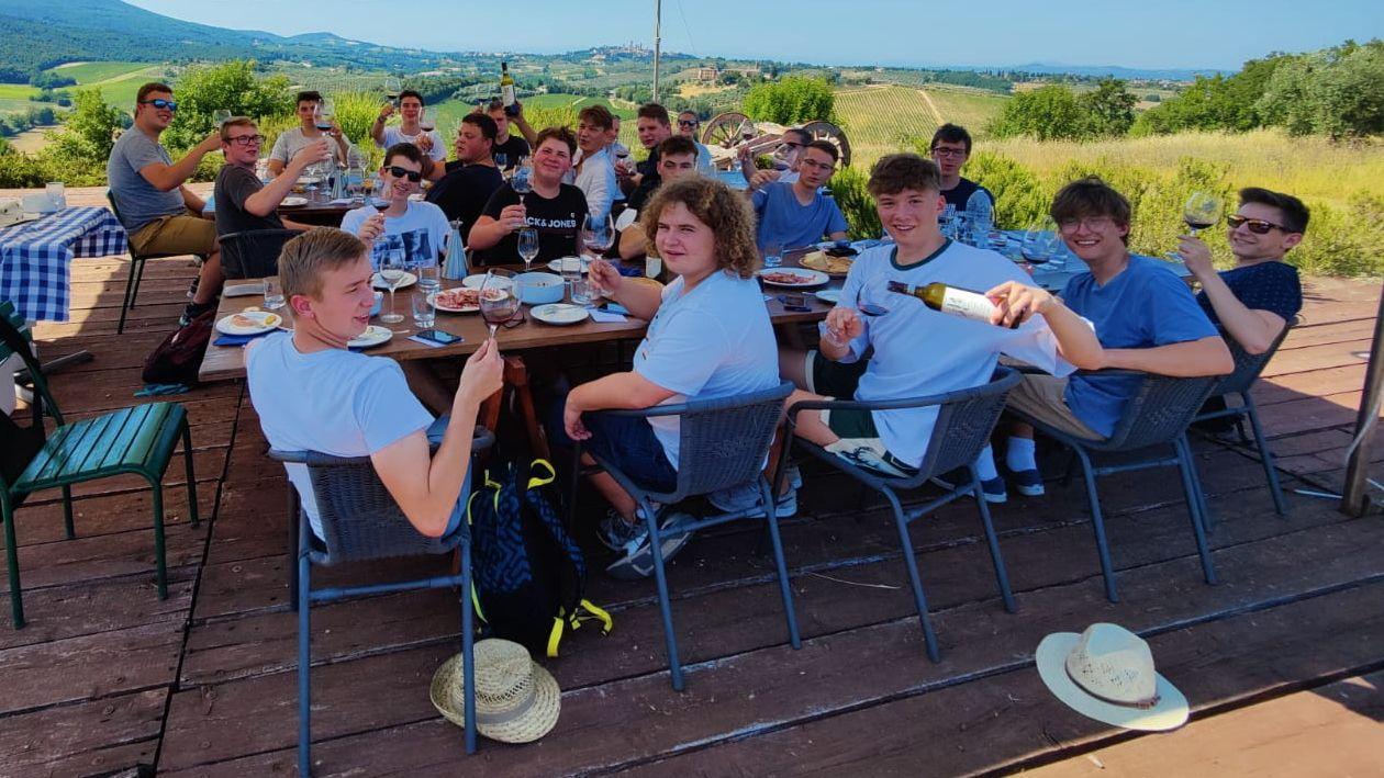 Abschlussreise Toskana 5. San Gimignano