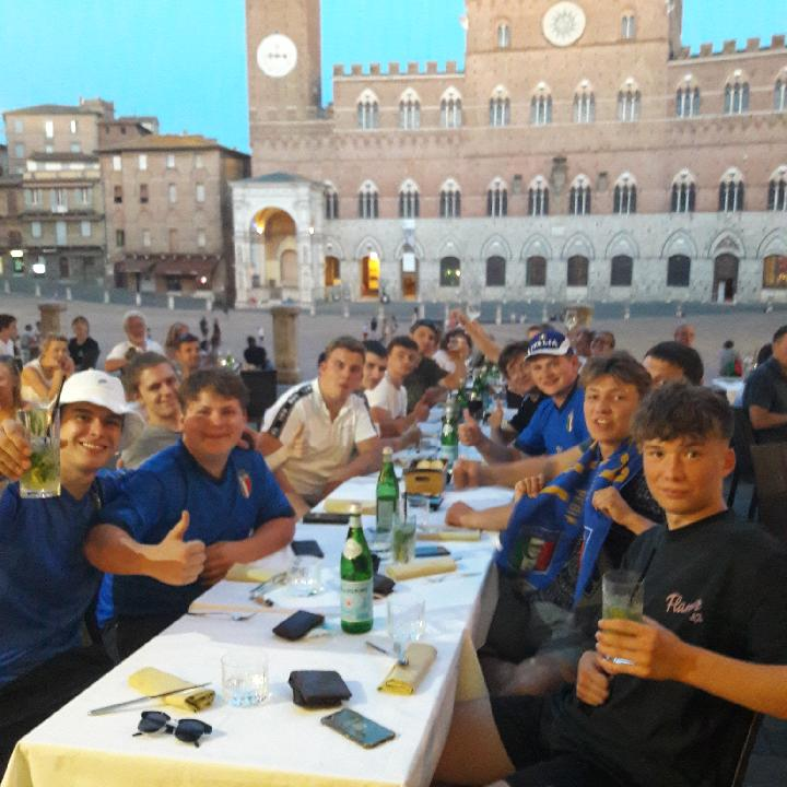 Abschlussreise Toskana 7. Fußball