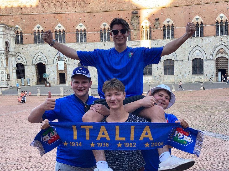 Abschlussreise Toskana 8. Fußball