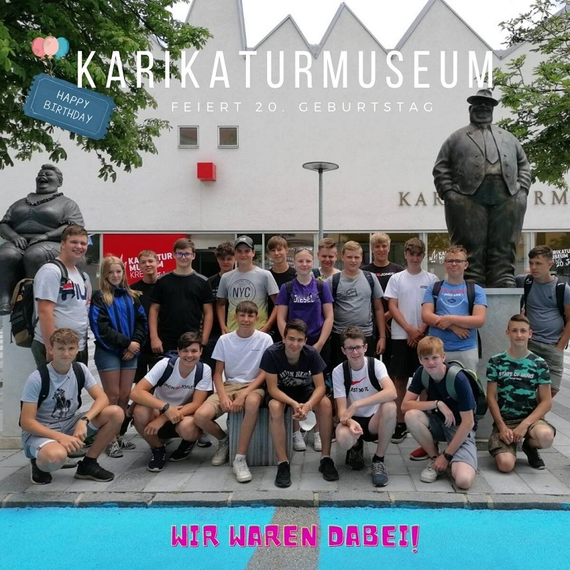 Karikaturmuseum Krems 1A; 30. Juni 2021